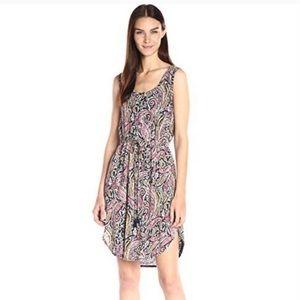 Lucky Verna Linen Blend Paisley Dress